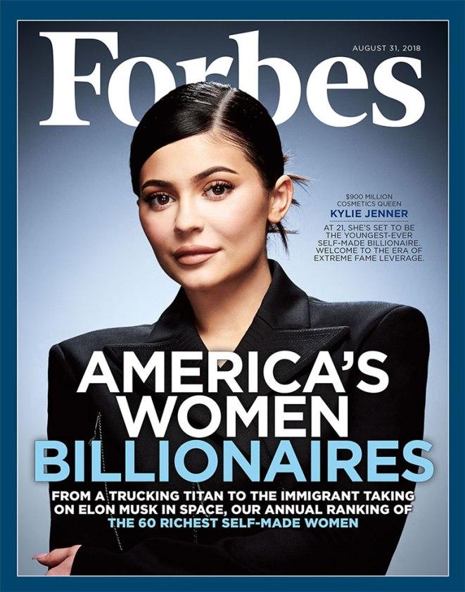 20-летняя Кайли Дженнер стала самой молодой миллиардершей Америки-Фото 1