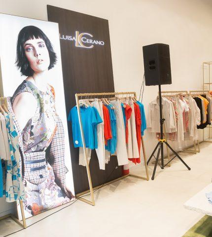 Как прошло открытие магазина Luisa Cerano-430x480