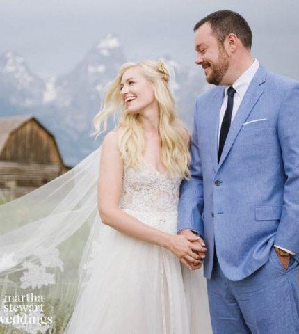 Звезда сериала «Две девицы на мели» вышла замуж-430x480