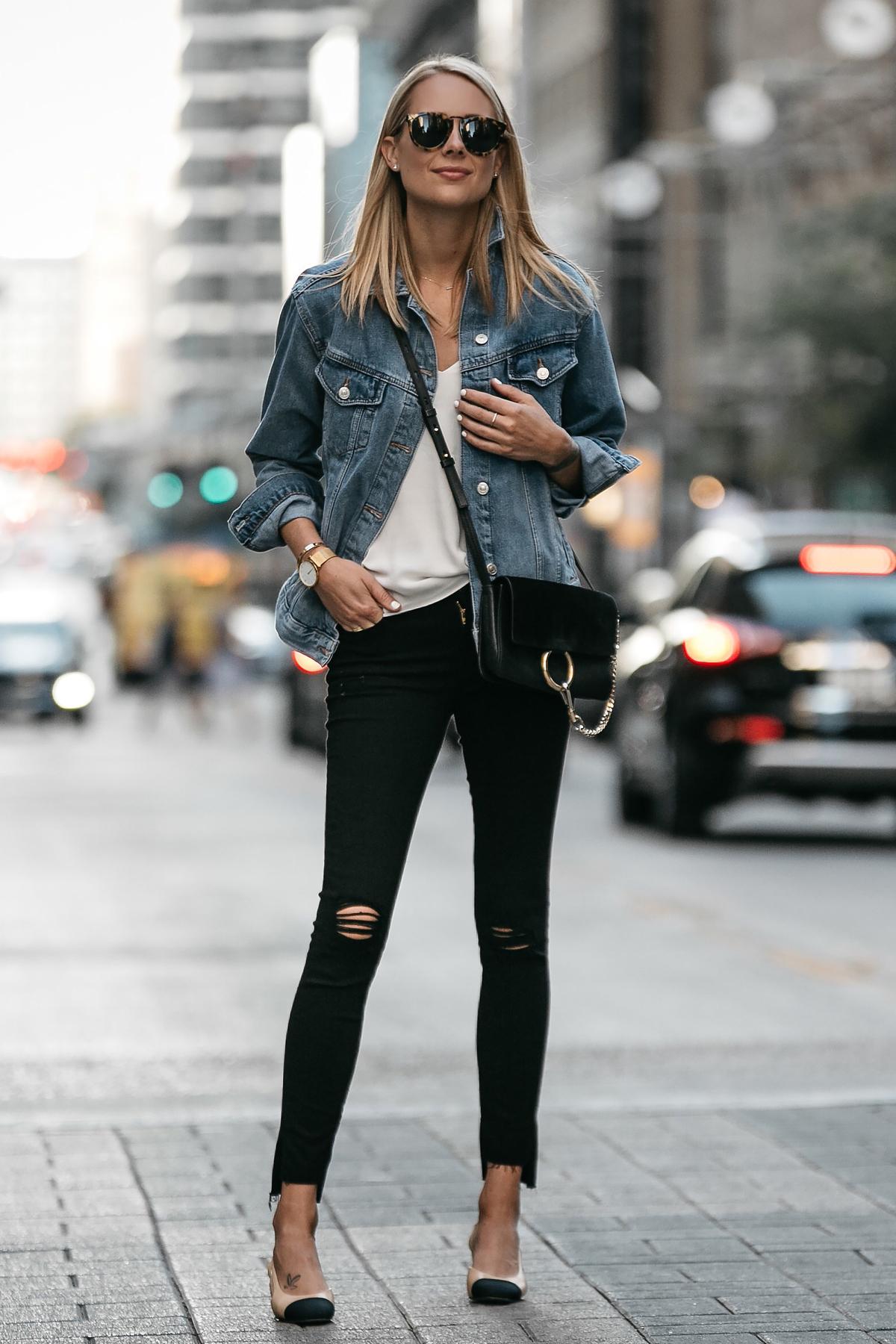 Как носить джинсовую куртку oversize-Фото 5