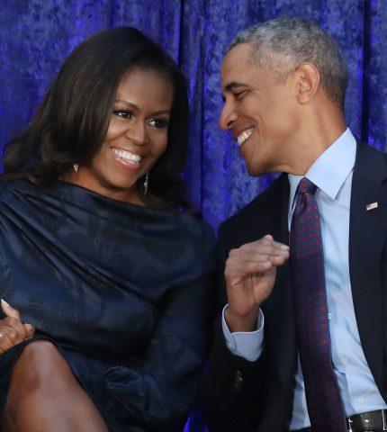 Барак и Мишель Обама станцевали на концерте Бейонсе-430x480