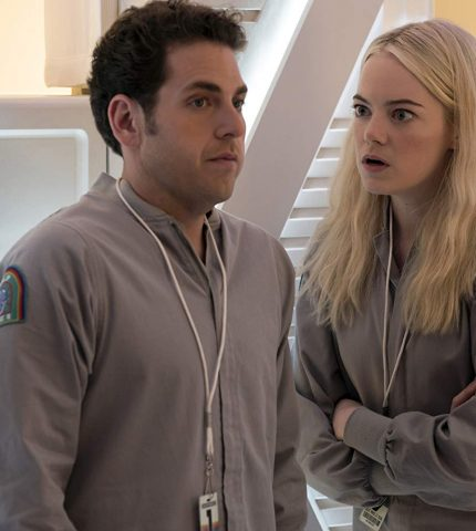 Эмма Стоун и Джастин Теру в первом тизере сериала «Маньяк»-430x480
