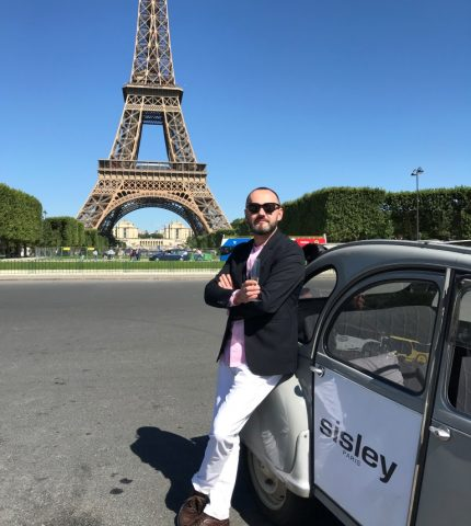 Константин Путиленко побывал в парижском Доме красоты Maison Sisley-430x480
