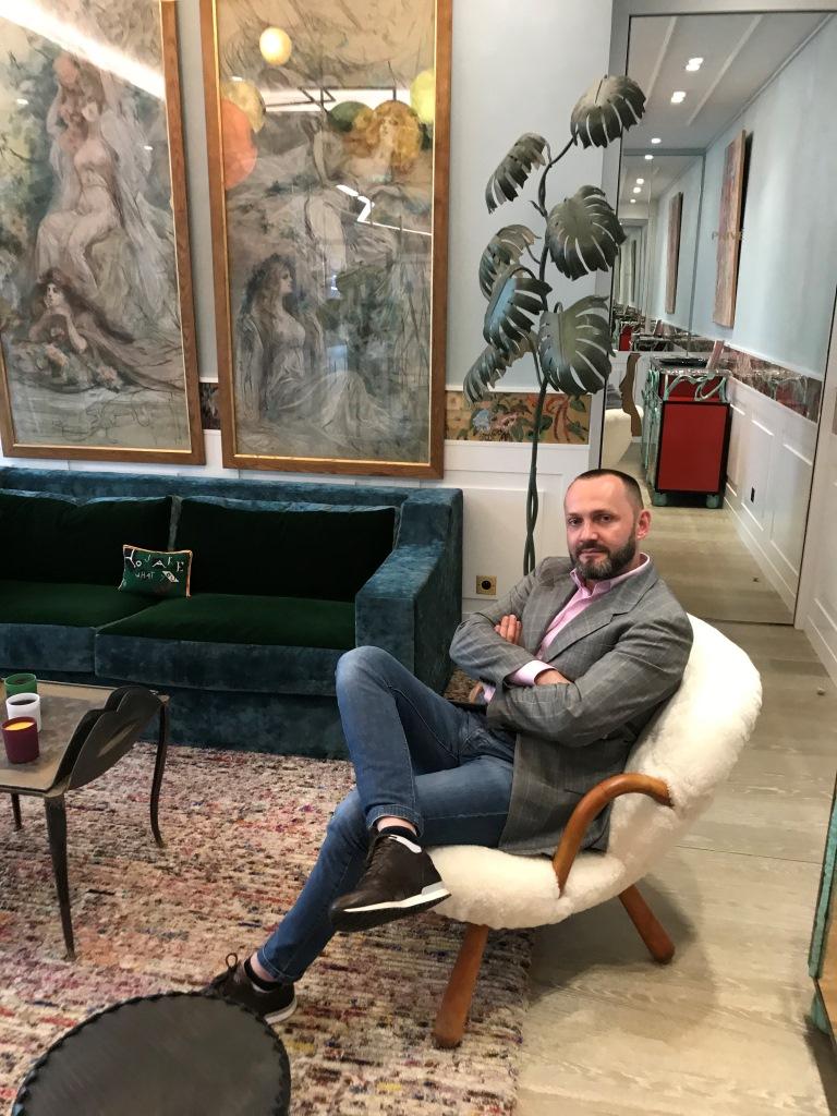 Константин Путиленко побывал в парижском Доме красоты Maison Sisley-Фото 4