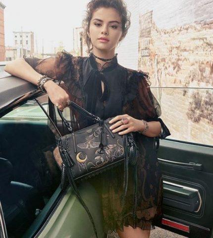 Селена Гомес снялась в рекламной кампании сумок Coach-430x480
