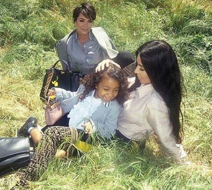 Пятилетняя дочь Ким Кардашьян в рекламе Fendi-430x480