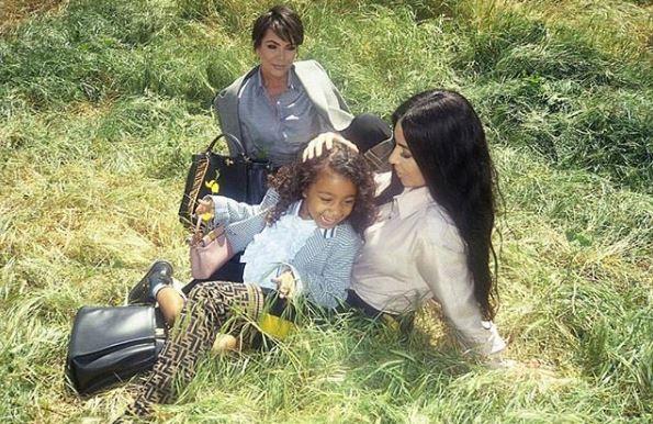 Пятилетняя дочь Ким Кардашьян в рекламе Fendi-Фото 1