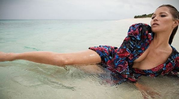 Кейт Мосс в рекламной кампании Saint Laurent-Фото 3