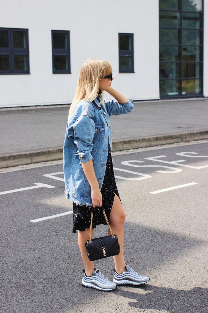 Как носить джинсовую куртку oversize-Фото 1