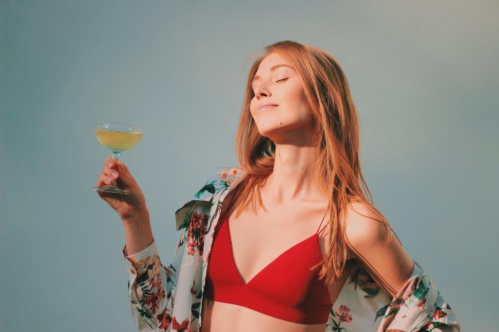 Влияние алкоголя на кожу лица человека