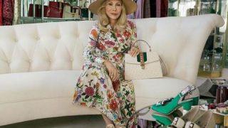 77-летняя Фэй Данауэй стала новым лицом бренда Gucci-320x180