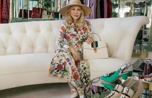 77-летняя Фэй Данауэй стала новым лицом бренда Gucci-Фото 1