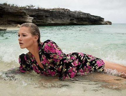 Кейт Мосс в рекламной кампании Saint Laurent-430x480