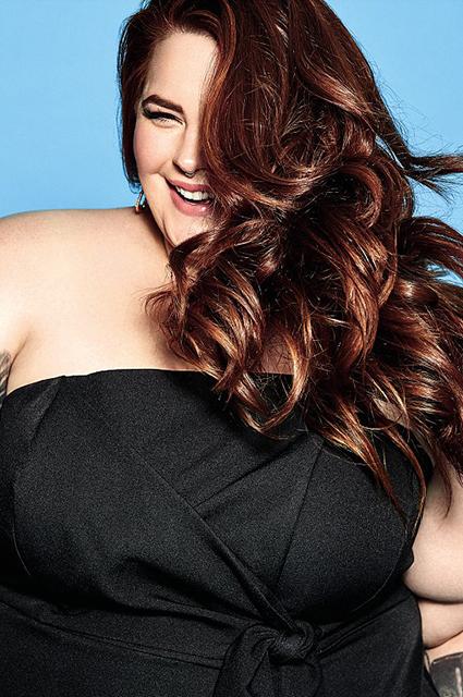Plus-size модель Тесс Холлидей снялась для британского Cosmopolitan-Фото 3