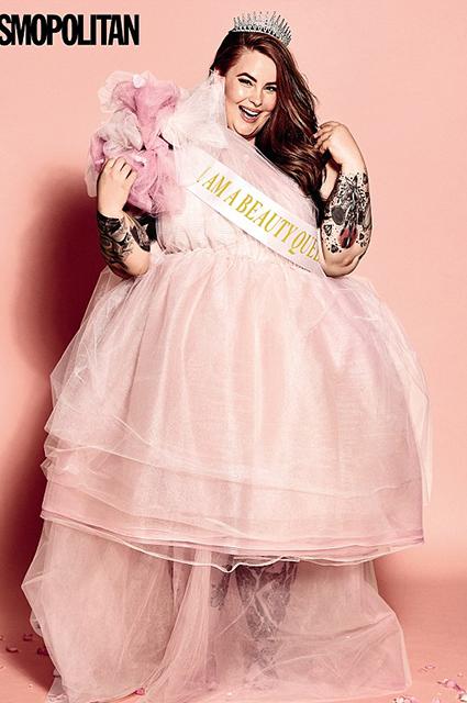 Plus-size модель Тесс Холлидей снялась для британского Cosmopolitan-Фото 4