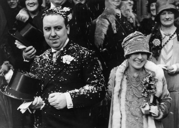 Альфред Хичкок и его жена Алма Ревилль фото
