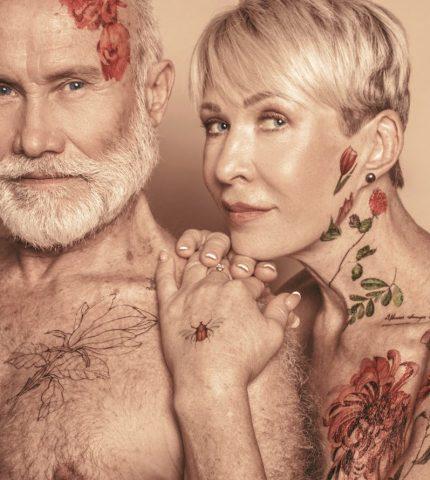 Взрослые модели примерили коллекцию тату от Лилит Саркисян-430x480