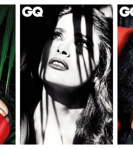 Роковая Сальма Хайек на обложке GQ-430x480