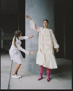 В Нью-Йорке на один день создали «центр исследования» украинской моды