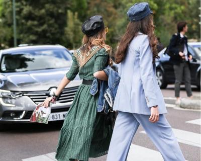 Как Парижанка: streetstyle на Неделе моды в Париже-430x480