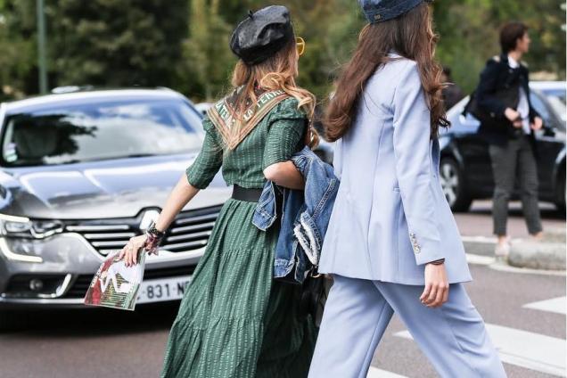 Как Парижанка: streetstyle на Неделе моды в Париже
