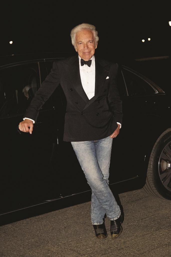 Блейк Лайвли, Канье Уэст, Поппи Делевинь и другие звезды на юбилее Ralph Lauren в Нью-Йорке-Фото 4