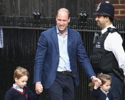 Принц Уильям рассказал об увлечении сына Джорджа-430x480