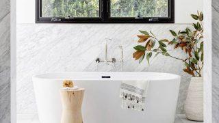 Простые и элегантные идеи для ванной комнаты-320x180