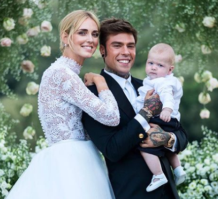 Итальянская свадьба: Кьяра Ферраньи вышла замуж-430x480