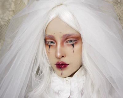 5 видеоуроков по макияжу на Хэллоуин-430x480