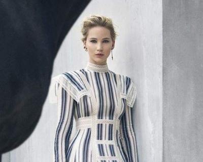 Дженнифер Лоуренс снялась в новой кампании Dior-430x480