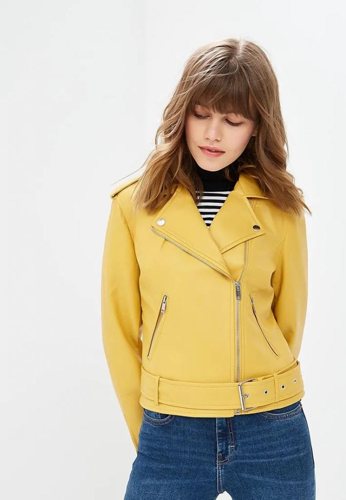 Универсальная кожаная куртка: выбираем под трендовые цвета сезона-Фото 8