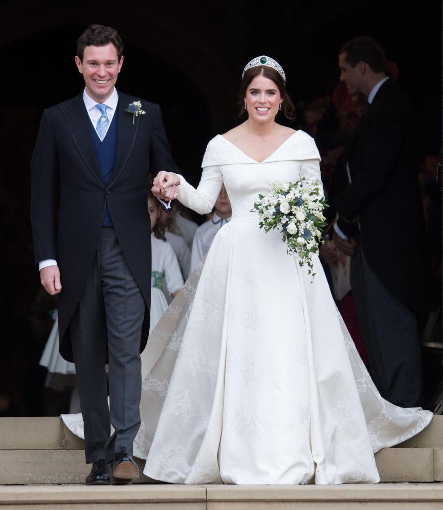 Принцесса Евгения поделилась милой фотографией со свадьбы-Фото 1