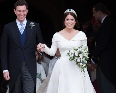 Принцесса Евгения поделилась милой фотографией со свадьбы-430x480