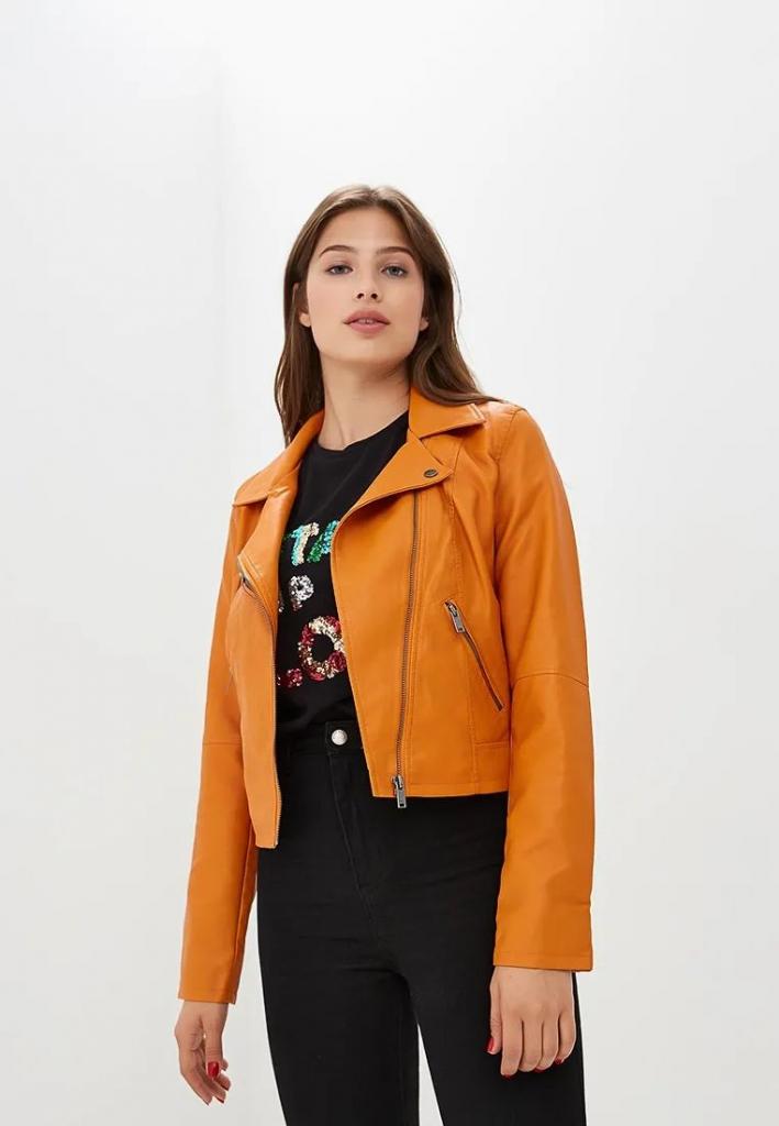 Универсальная кожаная куртка: выбираем под трендовые цвета сезона-Фото 10