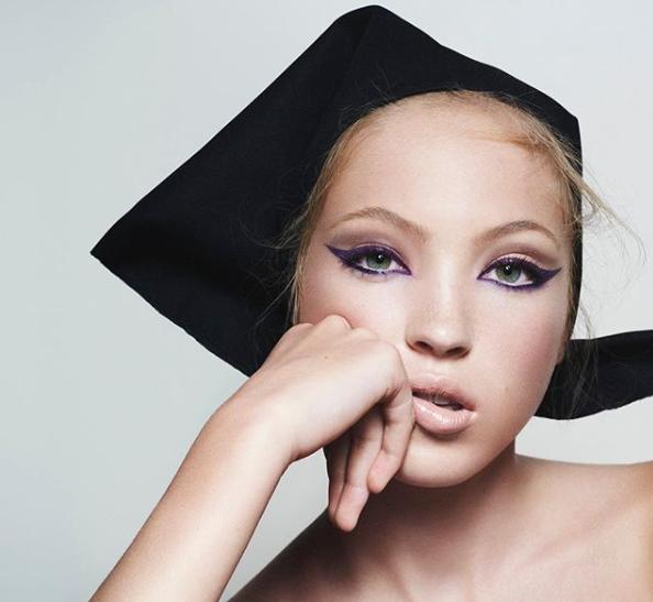 Дочка Кейт Мосс стала лицом Marc Jacobs Beauty-Фото 1