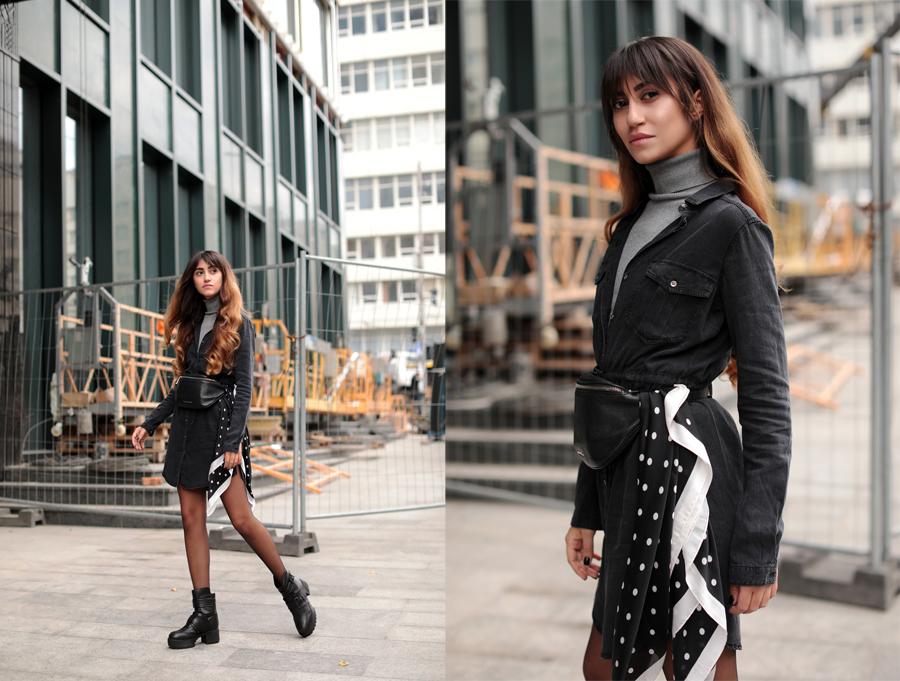 0c7265aa5f7 Не бойтесь носить холодной осенью и даже зимой юбки и платья. Просто  сочетайте их с более теплыми вещами и делайте многослойный образ