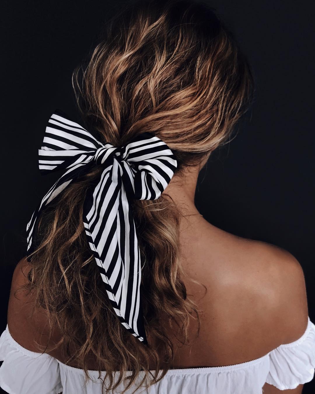 8 простых и красивых причесок на длинные волосы-Фото 7