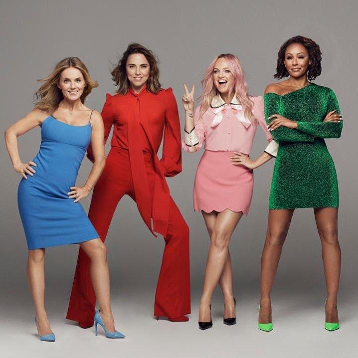 Легендарные Spice Girls воссоединились и готовятся к турне-320x180