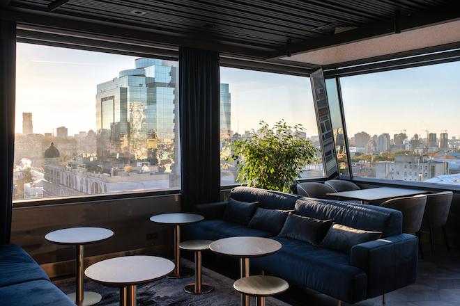 Новый руфтоп-бар и ресторан в киевском отеле 11 Mirrors-Фото 1