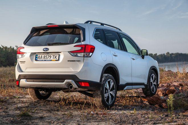 Дух приключений: новый Subaru Forester уже в Украине-Фото 4