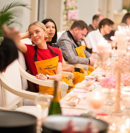 Ужин в честь 200-летия Veuve Clicquot Rosé-430x480
