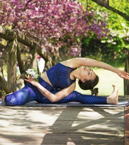 Упражнения для плоского живота, которые можно выполнять дома-430x480