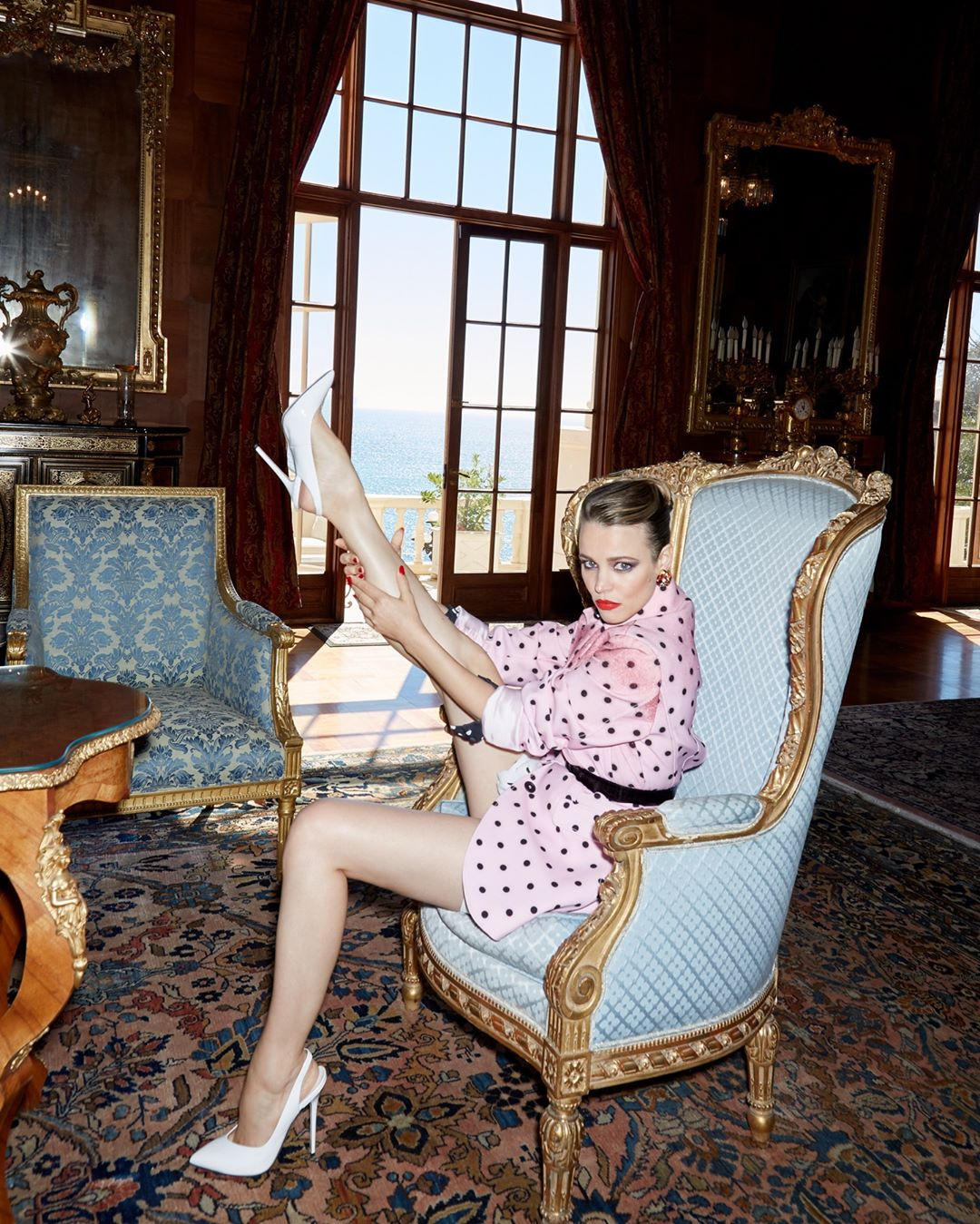 Рэйчел Макадамс снялась в провокационной фотосессии-Фото 2