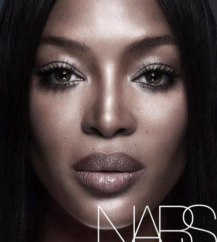 Наоми Кэмпбелл впервые стала лицом косметического бренда-430x480