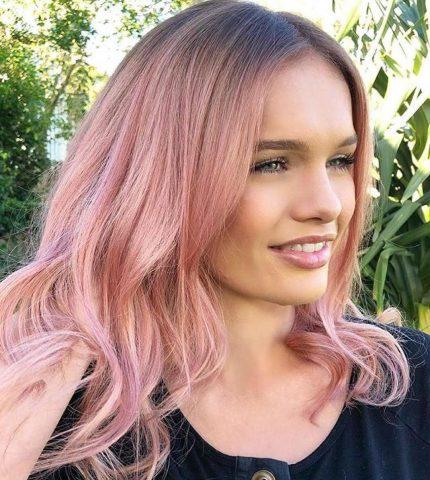 Трендовый цвет волос 2019 года: главные оттенки-430x480