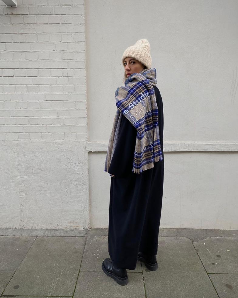 шарф как носить