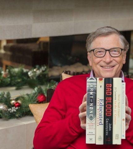 Пять лучших книг 2018 года по мнению Билла Гейтса-430x480