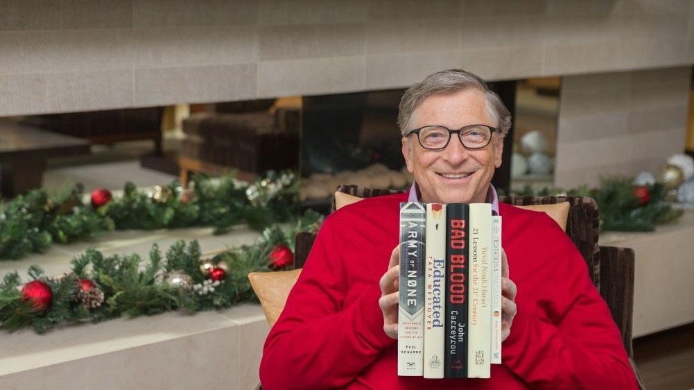 Пять лучших книг 2018 года по мнению Билла Гейтса-Фото 1