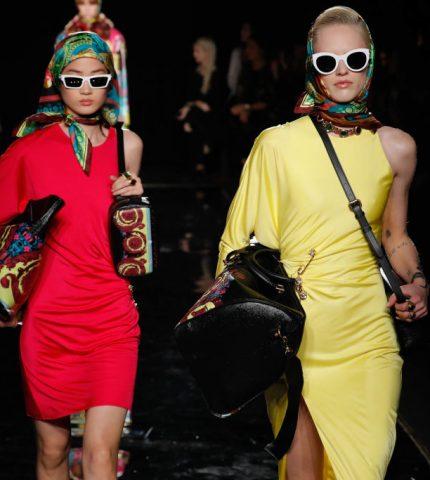 Звездные гости и именитые модели: Как проходил показ Versace в Нью-Йорке-430x480